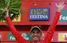 He's the Juan: Cobo wins La Vuelta