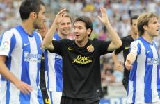 Vamos: Sign of the apocalypse as Barca draw