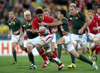 Faletau caused the South Africans some serious problems.
