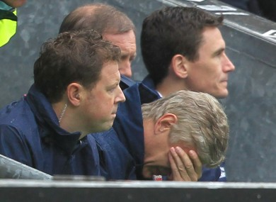 Wenger's team have endured a difficult start to the season.
