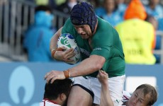 Russian cited for 'headbutt' on Sean O'Brien