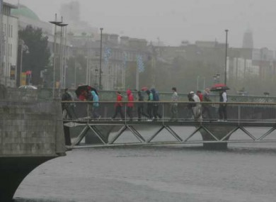 Ireland's poor weather was one of the reasons that caused its low ranking in the uSwitch quality of life index.