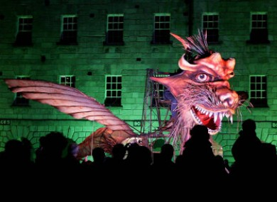 Macnas closes the ABSOLUT Fringe festival with On the Edge of Things is a Fierce Beauty