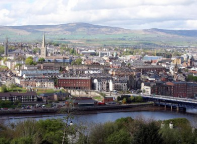 A general view of Derry
