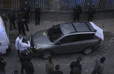 Drugs gang drops severed heads near military camp in Mexico City