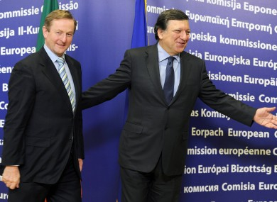 Kenny with Barroso in March