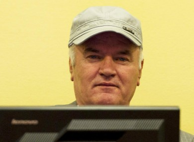 Former Bosnian Serb military chief Ratkco Mladic