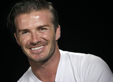 Beckham has spent the past five years playing for LA Galaxy.