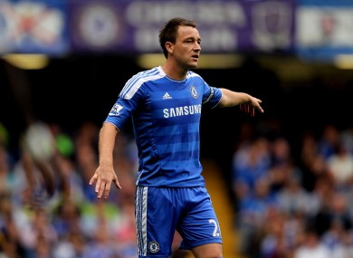 John Terry: hubris run amok?