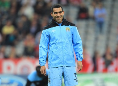 Tevez has avoided the media spotlight since the controversy last month.