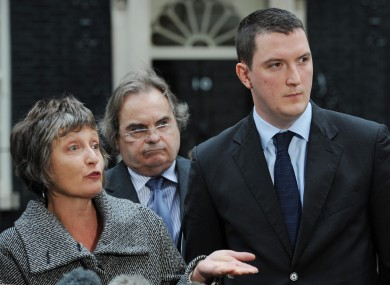 The family of murdered solicitor Pat Finucane, including his