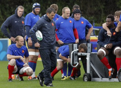 Relations in the French camp have appeared strained throughout the tournament.