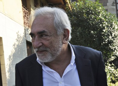 Strauss-Kahn yesterday