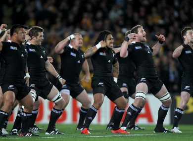 The haka has been criticised by some for being overly violent.