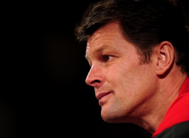 Big words: Forest's new manager, Steve Cotterill.
