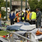 Occupy Oakland protestors were evicted from Frank H Ogawa plaza yesterday morning. (AP Photo/Ben Margot)