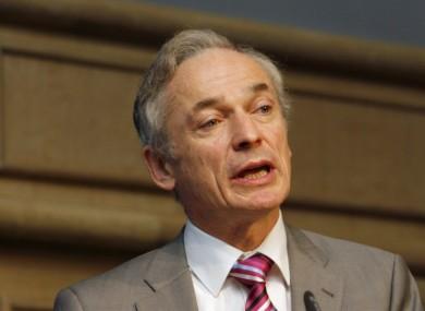 Minister for Jobs Richard Bruton