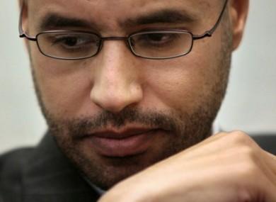 Saif al-Islam in 2008.