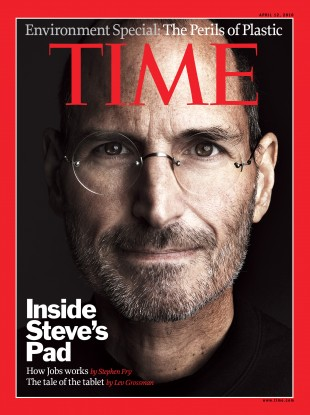 Steve Jobs appeared on the cover of TIME seven times - most recently in December 2010.