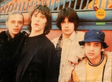 The Stone Roses: Mani, Ian Brown, John Squire and Reni.