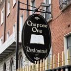 Chapter One opened in the basement of the Dublin Writers' Museum on Parnell Square in 1992.   Owner-chef Ross Lewis was awarded a Michelin star in 2007.  Image by informatique on Flickr