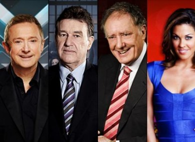 X Factor, The Apprentice, Tonight with Vincent Browne and Xposé are among the shows on offer