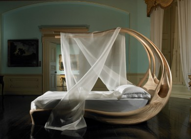 Enigmum Canopy Bed by Joseph Walsh