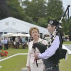 Another tradition at the Áras is the McAleese July 12 Garden Party.