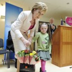 In her last few engagements, McAleese opened a new children's hospice, as well as the new cystic fibrosis units at Crumlin Children's Hospital. 