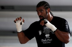Contract ready for Haye's comeback against Vitali