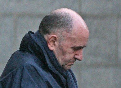 File photo dated February 2008 of Real IRA Leader Michael McKevitt