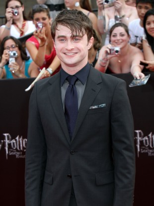 Daniel Radcliffe, who stars as Harry Potter in the film versions of the hit book series
