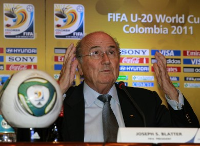 Blatter has upset some people with his latest remarks.