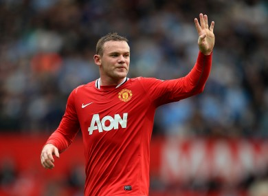 Wayne Rooney: from goal-scorer to play-maker?
