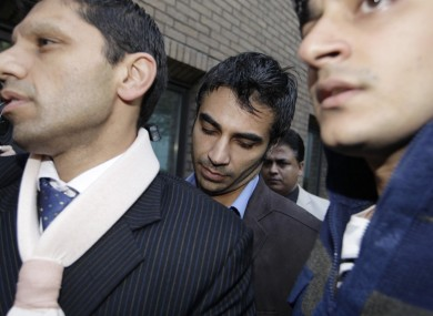 Salman Butt pictured outside London's Southwark Crown Court.