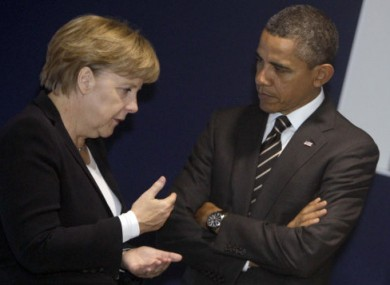 Top of the top ten entries: Angela Merkel and Barack Obama.