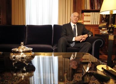 George Papandreou on Saturday