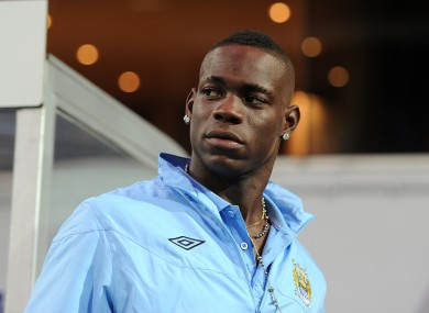 Balotelli has been in fine form this season, despite his turbulent personal life.
