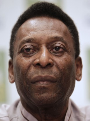 Pele claims he never suffered racist abuse as a player.