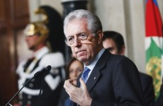 Monti announces Italian cabinet – and will be his own finance minister