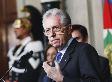 Mario Monti will formally take power in Italy this afternoon, officially ending Silvio Berlusconi's reign.