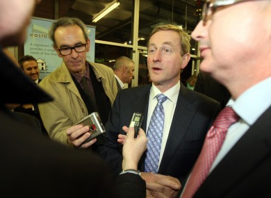 Enda Kenny told reporters in Belfast last night that no decisions have been made in relation to the Budget