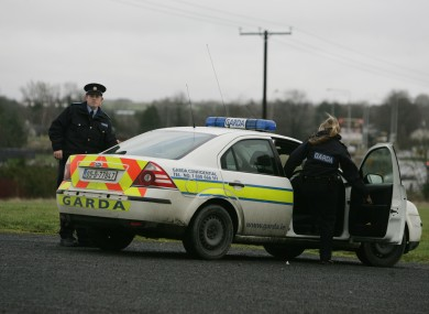 There are no unmarked Garda cars at Clones Garda Station - meaning areas connected by roads inside Northern Ireland are inaccessible.