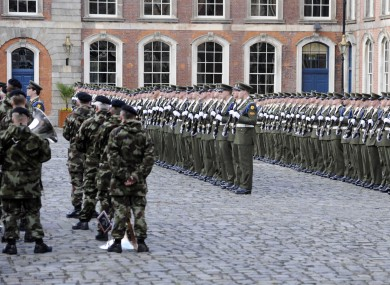 515 military staff, and 25 civilians, are to be relocated as part of plans to close four army barracks.