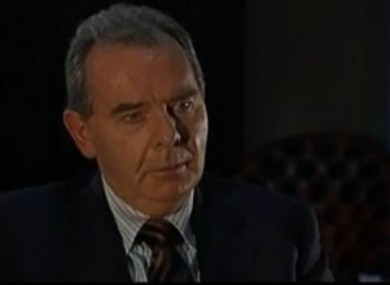 Sean Quinn during a rare interview with RTE in 2009