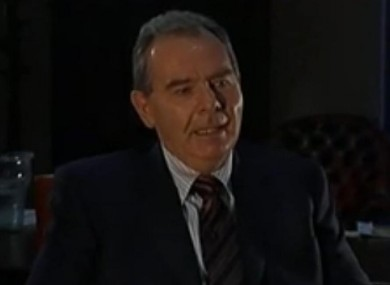 Seán Quinn in a rare interview with RTÉ in 2009