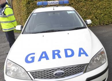 File photo of Garda patrol car