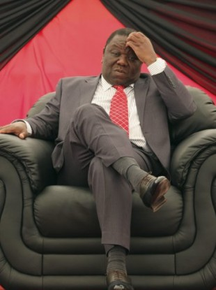 Zimbabwe's Prime Minster and Movement for Democratic Change (MDC) President, Morgan Tsvangirai