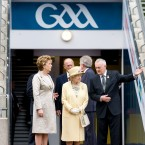 Queen Elizabeth ll's first official visit to Ireland had several landmark moments but one of the most emotive was when she set foot in Croke Park on May 18, 2011. The stadium was the scene of a massacre by British Black and Tans troops in 1920. (Anwar Hussein/EMPICS Entertainment/PA Images)