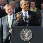 US President Barack Obama's speech at College Green, Dublin, on 23 May tried to instill some national pride back into the country and said that